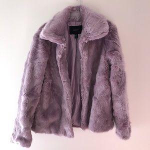 New Forever 21 Women's Soft Lavender Jacket